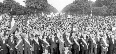 Manifestation 30 mai 68 pro gaulliste